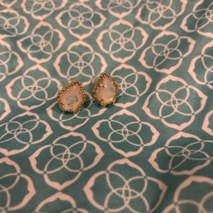 Kendra Scott Ivory Mother of Pearl Earrings